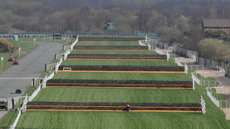 Bittar oversaw modifications made to the Grand National course