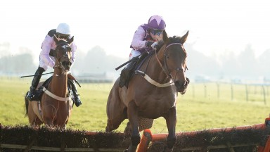 The Cull Bank : impressive in the mares hurdle at Plumpton (Photo by Alan Crowhurst/Getty Images)