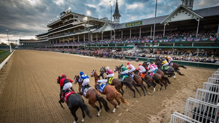 Churchill Downs: we will have to wait until September for this year's Kentucky Derby