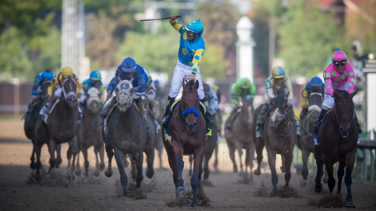 The Kentucky Derby: open to spectators