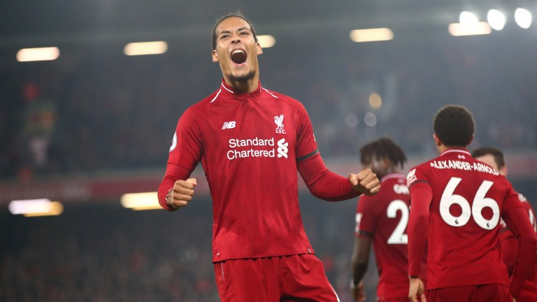 Virgil van Dijk's racehorse namesake is not as consistently tough as the Liverpool defender, according to his trainer