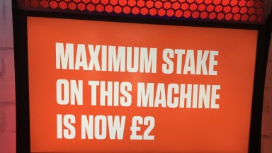 Maximum stakes on FOBTs will be cut to £2 from April 1
