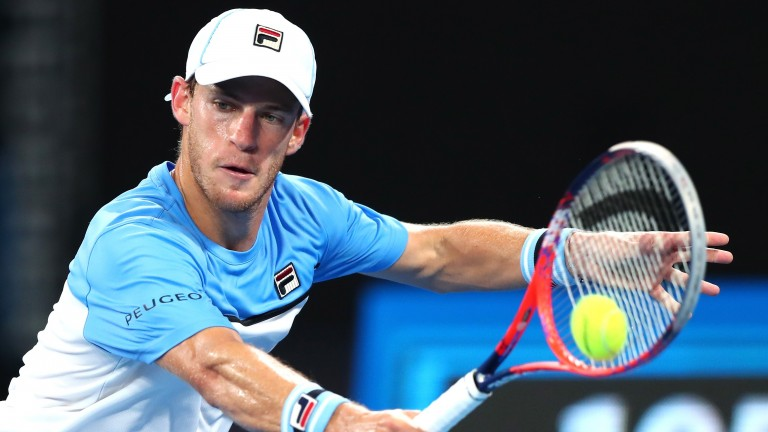 Diego Schwartzman makes up for a lack of power with some terrific groundstrokes