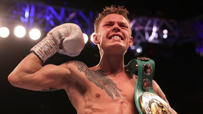 WBC flyweight champion Charlie Edwards