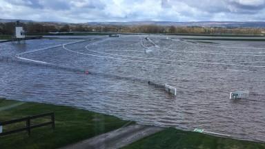 Bangor under water