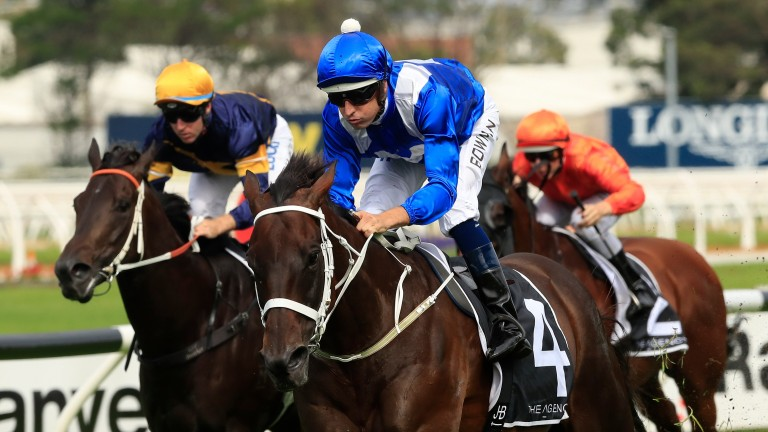 Winx makes it 32 wins in a row with victory in the George Ryder Stakes
