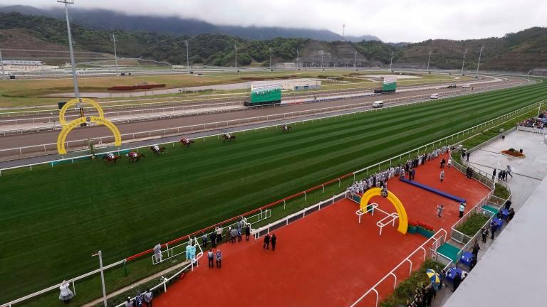 Conghua racecourse: opened in 2018