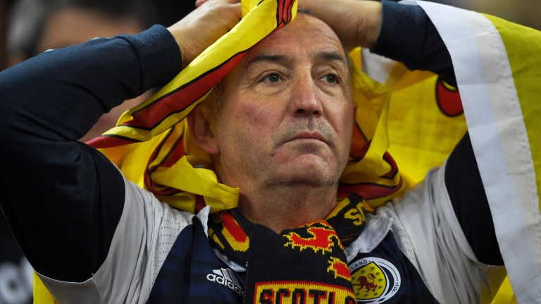 Scotland fans haven't had much to cheer recently