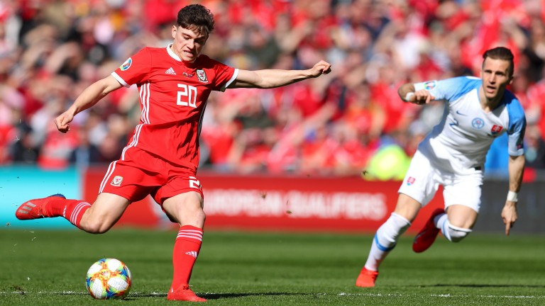 Daniel James scored on his Wales debut