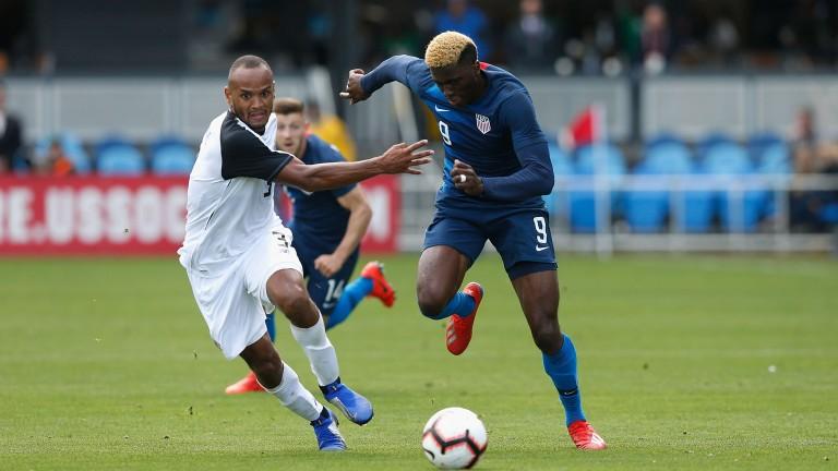 Gyasi Zardes found the net against Ecuador for the USA
