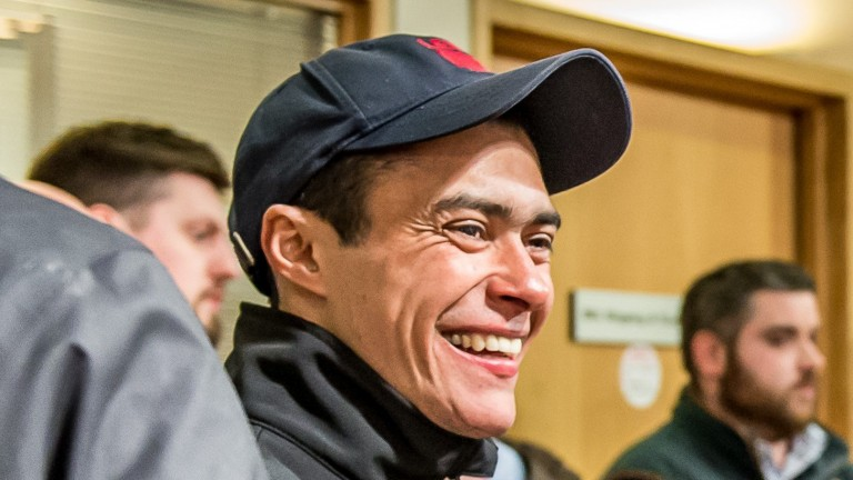 Robson Aguiar after selling a Pivotal colt for £140,000 at last year's Goffs UK Breeze-Up Sale
