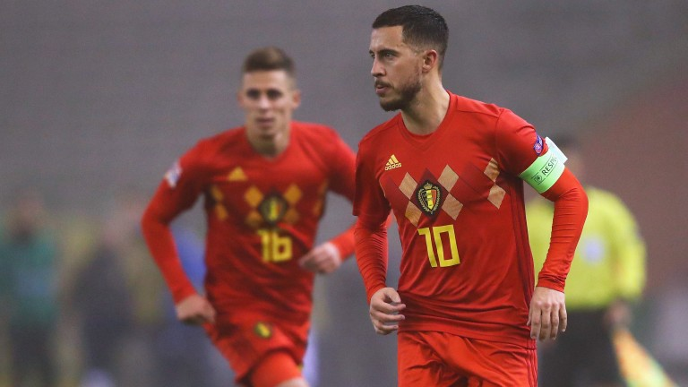 Eden Hazard (right) and Thorgan Hazard (left) could be crucial to Belgium's Euro 2020 charge
