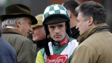 The holy trinity: Paul Barber, Ruby Walsh and Paul Nicholls rewrote the record books