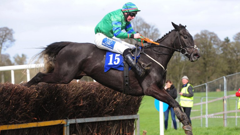 Moore Clouds and Anthony Fox take the last to land the four-year-old mares' maiden at Durrow