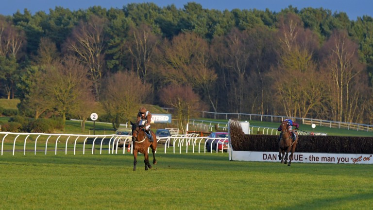 Market Rasen: afternoon jumps action at the Lincolnshire course