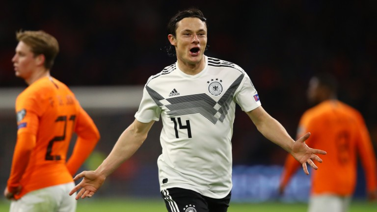 Nico Schulz scored a decisive goal for Germany against Holland