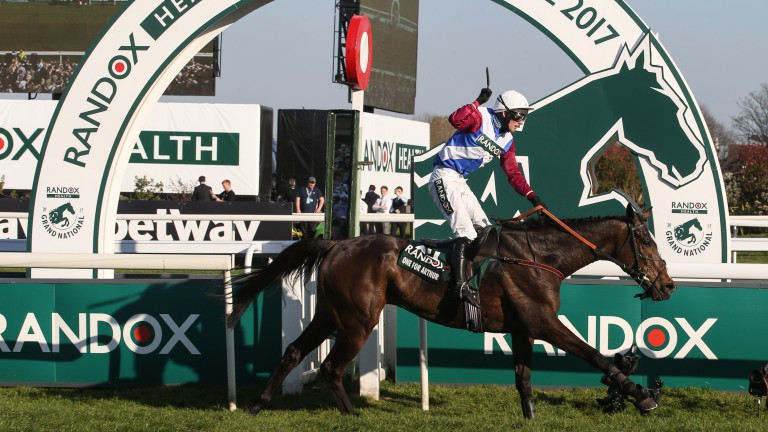 One For Arthur: won the Classic Chase before going on to win the Grand National three months later