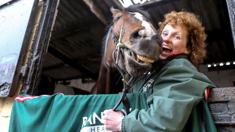 Grand National winner Lucinda Russell is among the trainers opening their yards