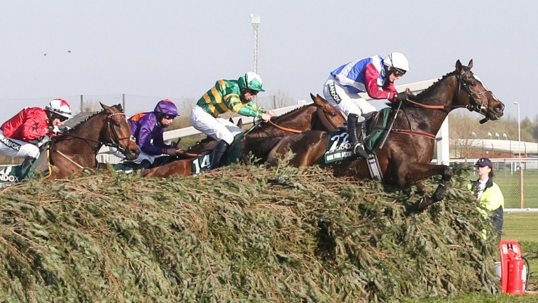 Scottish-trained One For Arthur won the Grand National in 2017