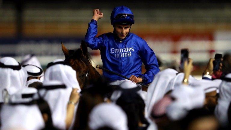 William Buick: has been off since a fall in May