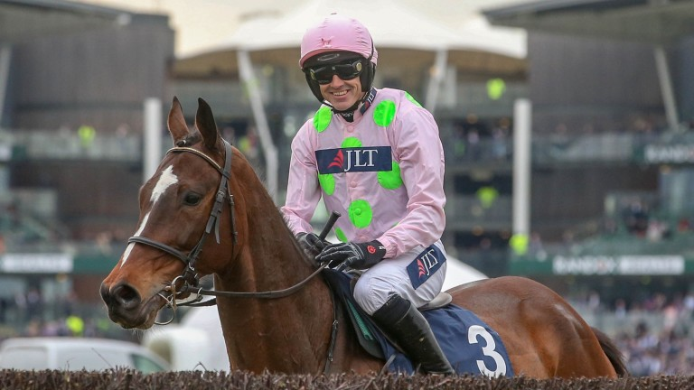 Ruby Walsh will ride Min in the BoyleSports Champion Chase after his super win at Aintree