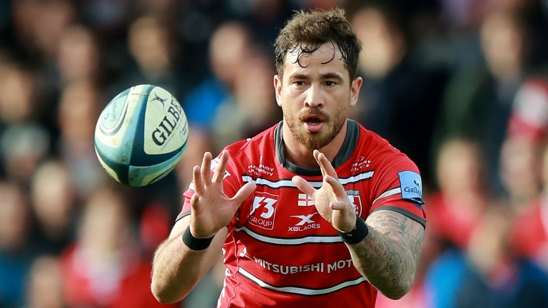 Gloucester fly-half Danny Cipriani