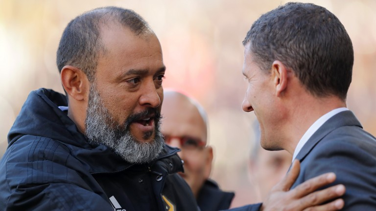 Nuno's Wolves and Javi Gracia's Watford could be difficult to separate