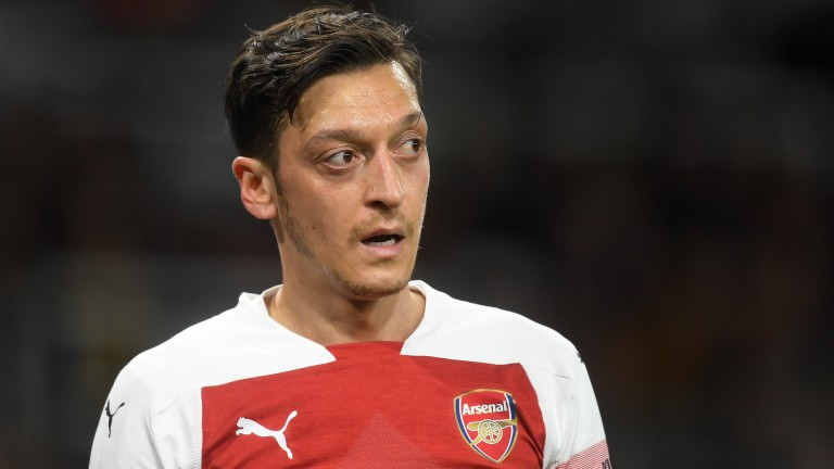 Mesut Ozil has been back in the first-team fold for Arsenal