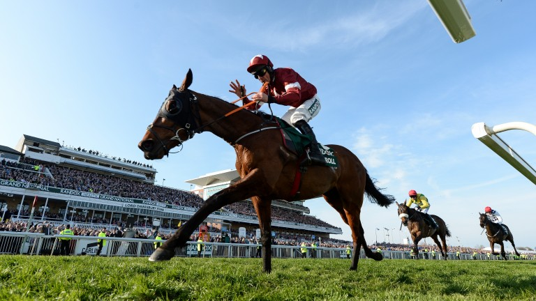 Tiger Roll: handed a 7lb rise for the 2021 Grand National and will carry 11st 9lb at Aintree