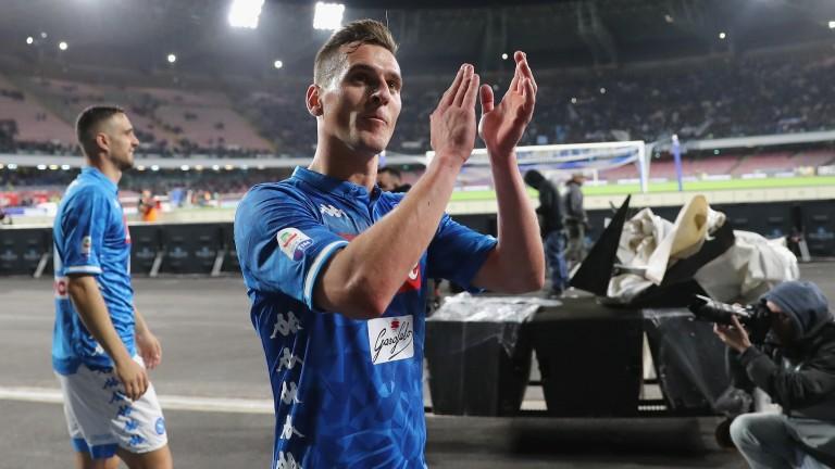 Arkadiusz Milik's Napoli can record comfortable win