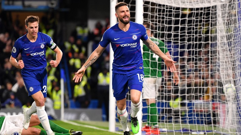 Olivier Giroud's Chelsea can keep their Champions League hopes alive