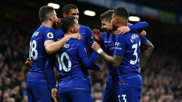 Chelsea will be looking to continue their push for the Champions League places against West Ham