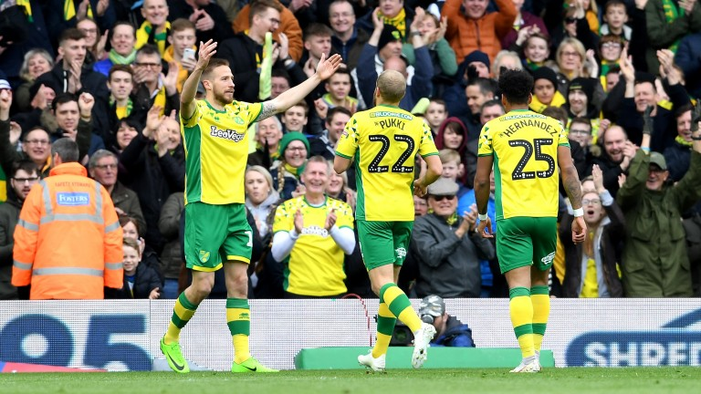 Norwich City are on course to land the Sky Bet Championship title