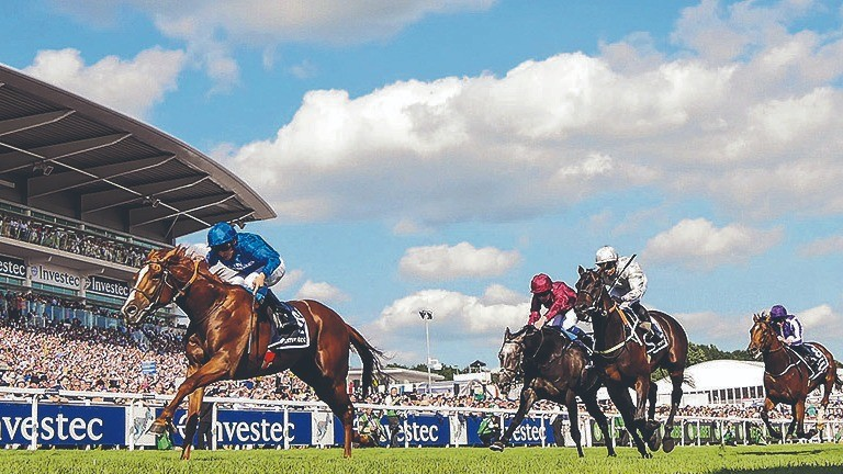 Masar: provided Godolphin with Derby glory in 2018