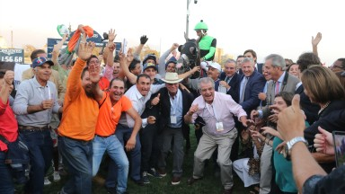 Post-race scene at the 2019 Gran Premio Latinoamericano, won by Ya Primo