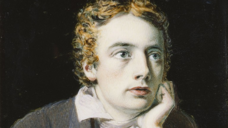 John Keats: the English Romantic poet is set to be represented on track by a son of Galileo