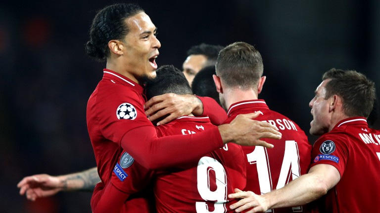 Virgil van Dijk has led by example at the back for Liverpool