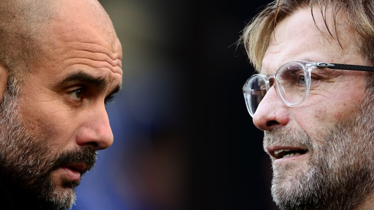Pep Guardiola's Manchester City and Jurgen Klopp's Liverpool are once again tussling for the Premier League title