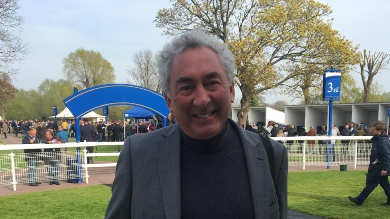 Mark Weinfeld: owner-breeder of impressive scorer Telecaster