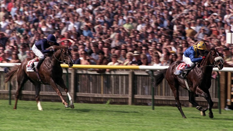 King's Best storms clear of Giant's Causeway in the 2000 2,000 Guineas