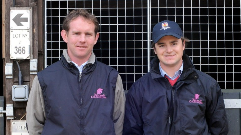 David Cox (left) and David Myerscough operated successfully together for eight years