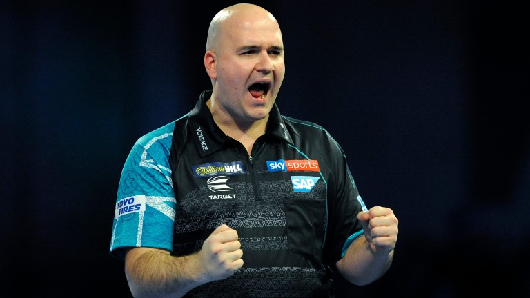 Rob Cross could pile in the maximums against Jonny Clayton