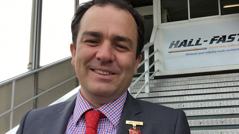 """Mark Clayton: """"I think it shows faith in Southwell providing the summer jumping ground that we do"""""""