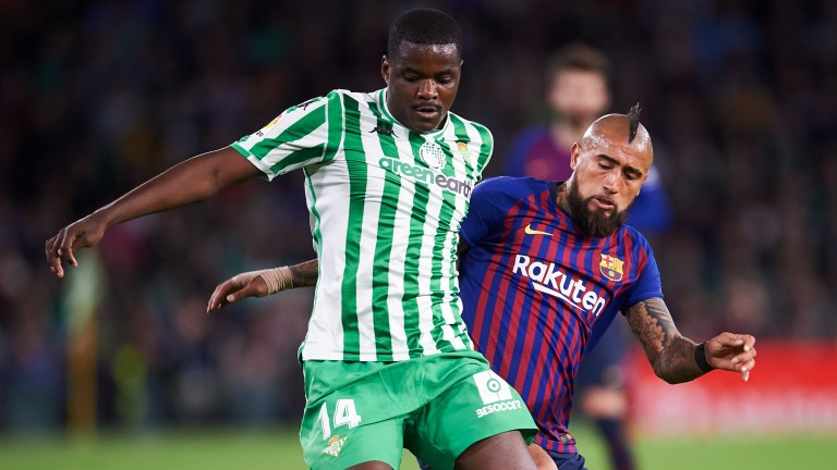 William Carvalho's Real Betis can take maximum points against Levante
