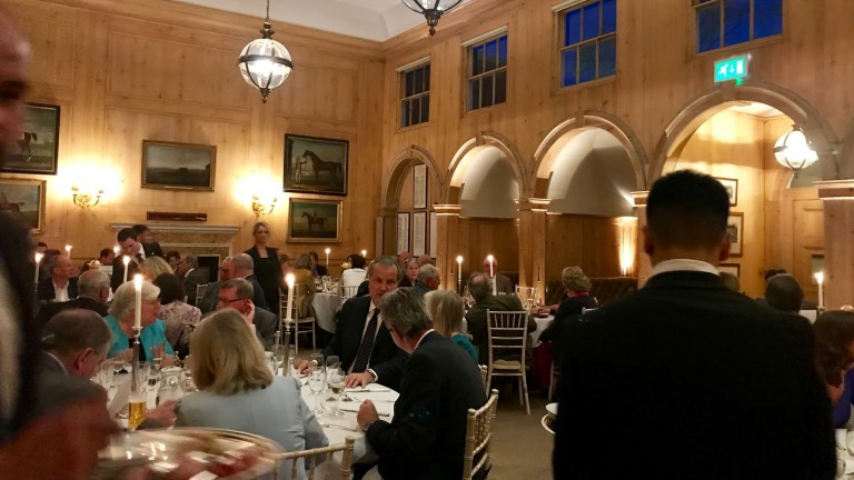 More than 80 guests attended the annual Fred Archer Dinner at the Jockey Club Rooms