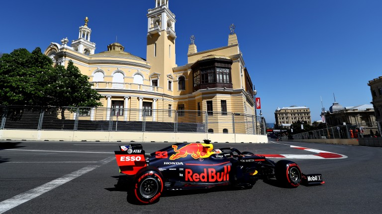Red Bull's Max Verstappen sits third in the championship table