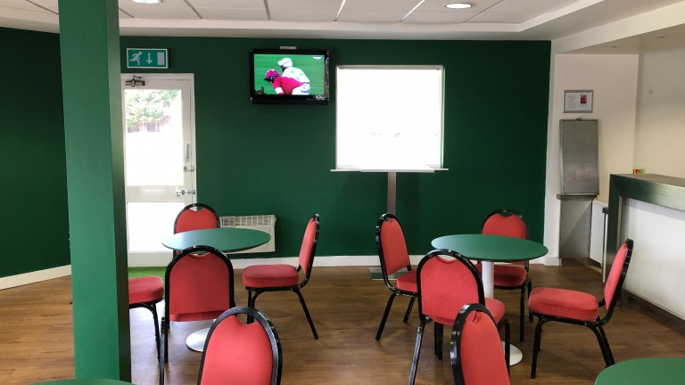 A new room at Nottingham racecourse offering racegoers a quieter environment