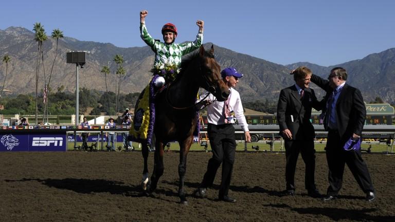 Muhannak triumphs at Santa Anita