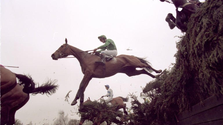 Ruby Walsh and Papillon on their way to Grand National victory in 2000