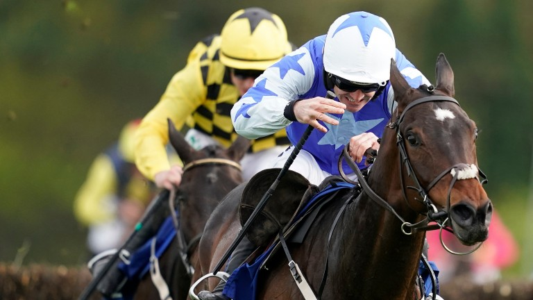 Ruby Walsh: produced as good a ride as you'll see, according to Paul Nicholls